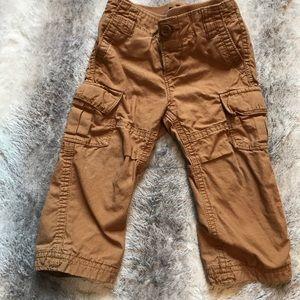 Gap khaki pants lined 12-18 EUC